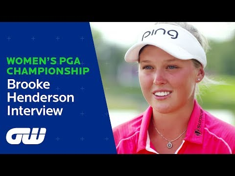 Brooke Henderson - 2016 KPMG Women's PGA Champion