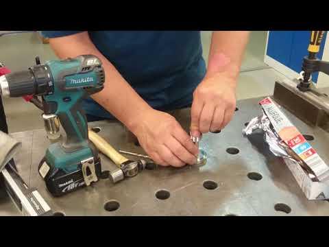 STAINLESS STEEL PIPE / ALU PURGE PLUG