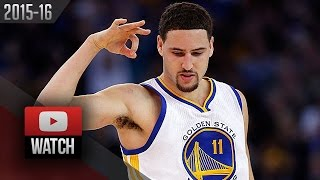 Klay Thompson Full Highlights vs Suns (2015.12.16) - 43 Pts in 3 Qtrs