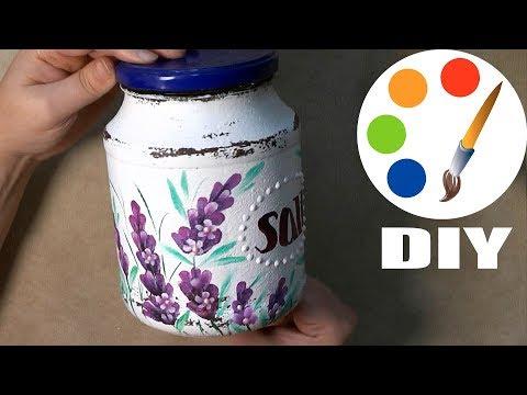 DIY, Decoration idea, Provence Style, How to paint lavender, irishkalia