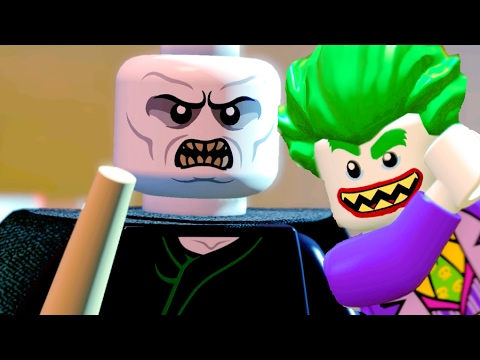 The Lego Batman Movie Lord Voldemort Defeat The Final Boss Battle, THE END