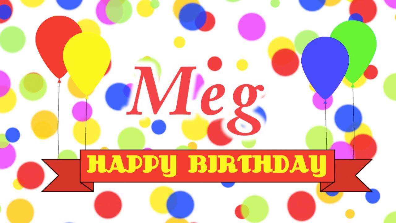 Happy Birthday Meg Song