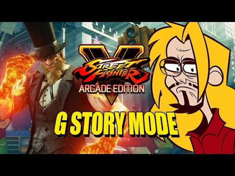 G - Story Mode W/Max & Steve: Street Fighter V Season 3