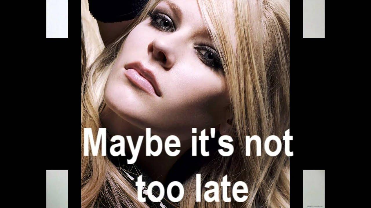Avril Lavigne- Tomorro... Avril Lavigne Tomorrow