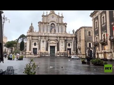 أمطار غزيرة تغمر صقلية الإيطالية  - نشر قبل 7 ساعة