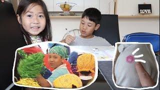 Dia de esporte na escola, ensinando Japonês  | Angela Inoui