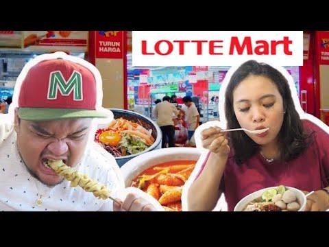 Cobain Makan Di Lotte Mart !! ENAK JUGA !!