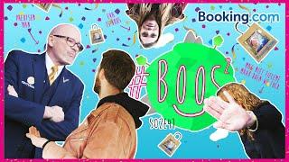 BOOKING.COM DUWT TIM HET PAND UIT EN LAAT TIENERS OP STRAAT ZWERVEN IN ROME | #BOOS S02E41