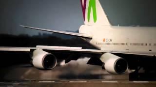 Video First Vídeo!! √ Boeing 747-400 Wamos Air√ download MP3, 3GP, MP4, WEBM, AVI, FLV Juni 2018