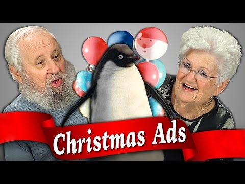 Elders React to Christmas Commercials