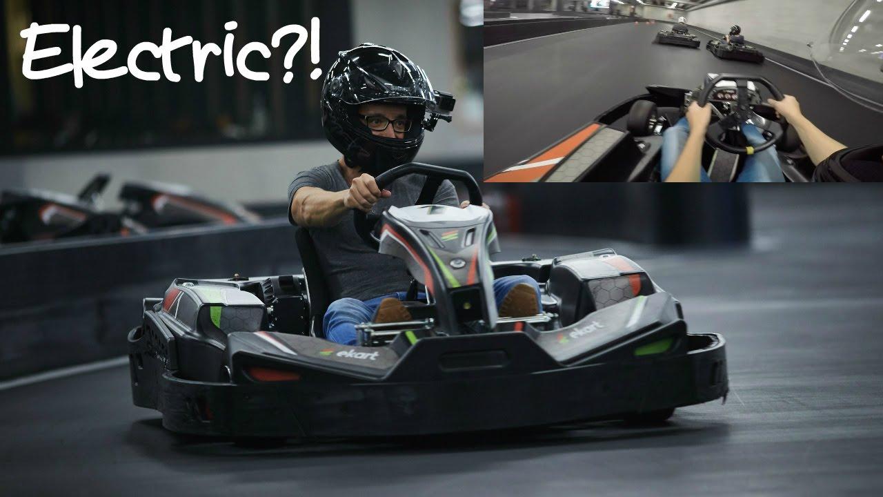 Electric Go Kart Race At Ekart Ghent
