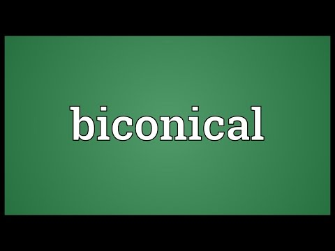 Header of biconical
