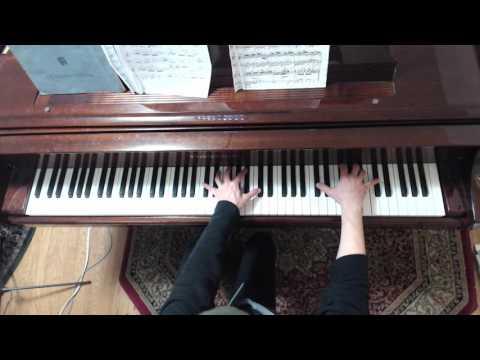 (HD) Piano Technique: 4-note Arpeggios in F-sharp  Major -through Inversions