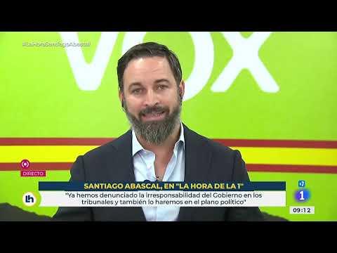 Entrevista completa a Santiago Abascal en TVE