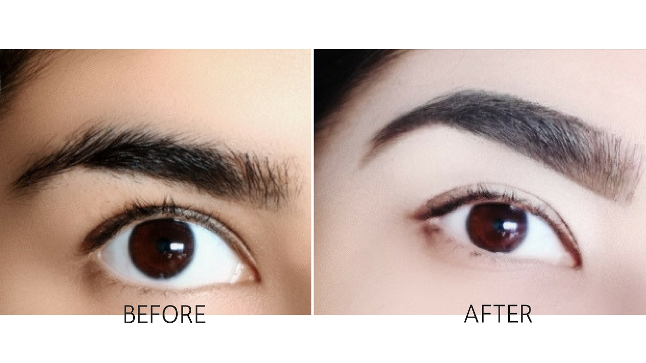 how to draw eyebrows for beginners step by step