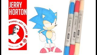 Draw TYSON HESSE Sonic the Hedgehog | SONIC MANIA