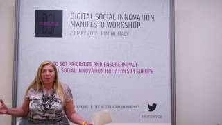 Social Innovators for the Next Generation Internet - Loretta Anania, European Commission