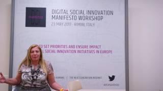Social Innovators for the Next Generation Internet - Loretta Anania, European Commission