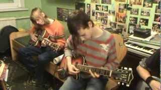 Blues solo groją Vytenis,Giedrius,o Martynas akomponuoja