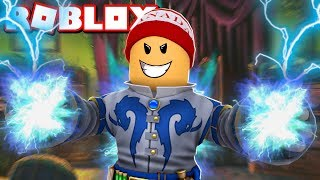 * NEW * I've become a MAGICIAN in the SIMULATOR OF ROBLOX SPELLS → Magic Simulator 🎮