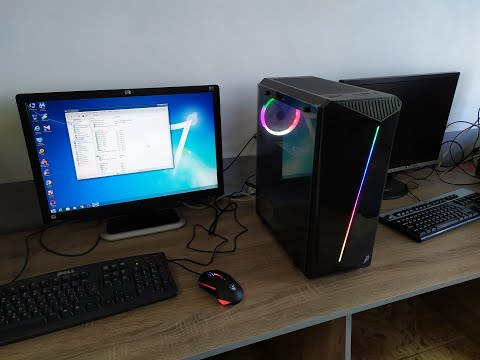Корпус 1st Player Rainbow-R3 (Color LED) Black