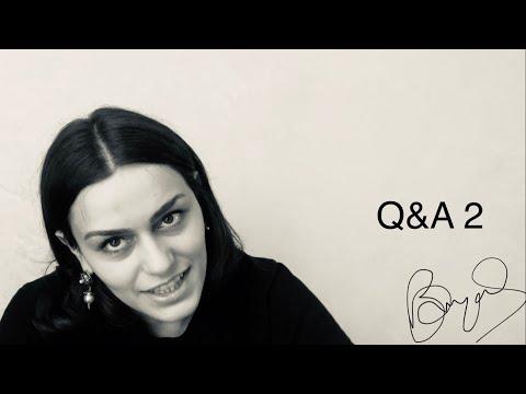 2 Հարց ու պատասխան | Ռուզան Մանթաշյան 2 Q&A | Ruzan Mantashyan