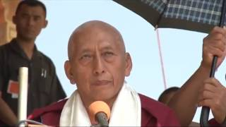 Tibetan: Trisur Prof. Samdhong Rinpoche Talk on Dolgyal, 2011