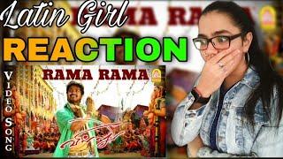 Hey Rama Rama Video Song REACTION   Thalapathy Vijay   Villu Movie   Praying Deva