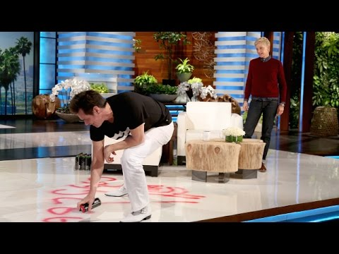 Thumbnail: Jim Carrey Paints a Picture for Ellen