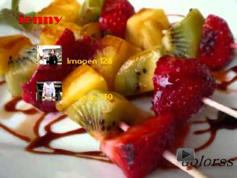 Sofia frutas hechas en casa pasaboca 1 parte youtube - Postres con frutas faciles ...
