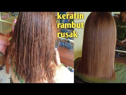 Keratin Treatment Rambut Rusak How Do Brazilian Keratin Treatment Youtube