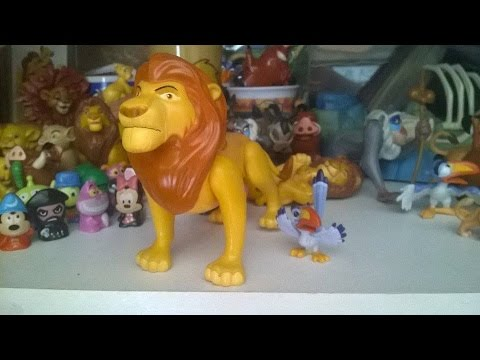 The Lion King Walmart Mufasa And Zazu Figures Review