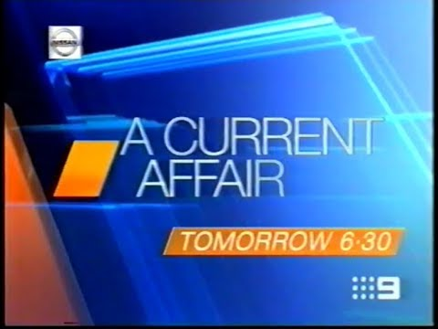 Channel 9 A Current Affair Promo July 2004