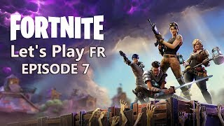 Fortnite FR Let's Play Défense de bouclier Fontainebois 3 #7 - PS4 Pro