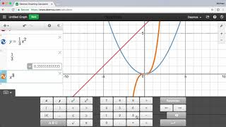 Introduction to the Desmos Graphing Calculator