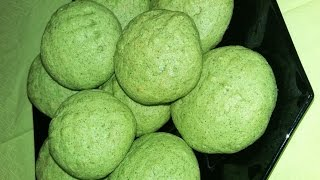 Naneli Kurabiye / Мятное Печенье / Mint Cookies