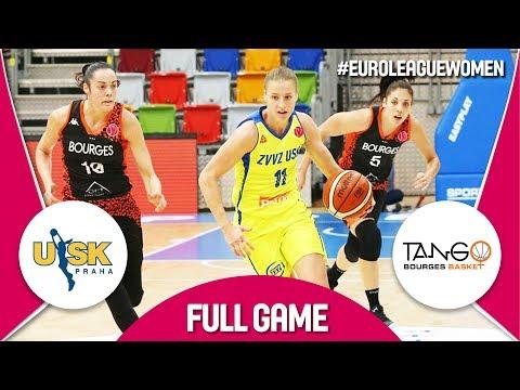 LIVE🔴 - ZVVZ USK Praha (CZE) v Bourges Basket (FRA) - EuroLeauge Women 2018