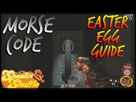 """Shaolin Shuffle"" Easter Egg Guide! Morse Code In Depth Tutorial (Step 4)"