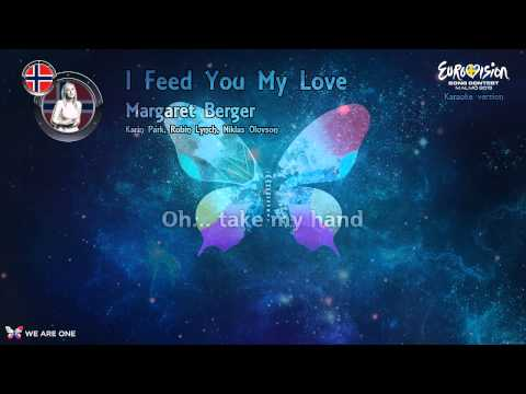 "Margaret Berger - ""I Feed You My Love"" (Norway) - Karaoke version"