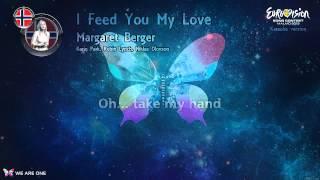 "Margaret Berger - ""I Feed You My Love"" (Norway) - Karaoke version"
