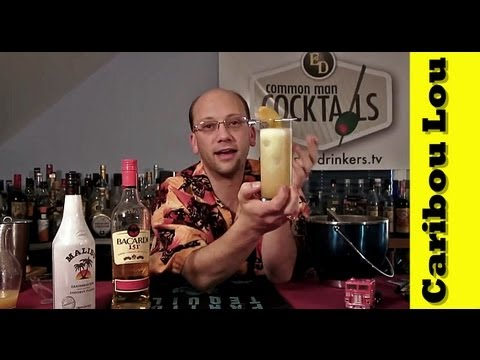 How To Make The Caribou Lou Cocktail