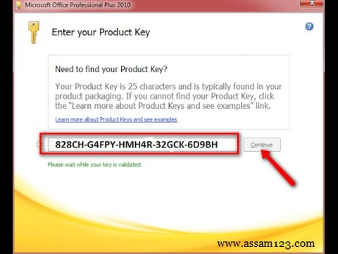 product code for microsoft office