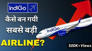 Gambar cover Indigo Airlines Success Story| Business Model | Case Study (HINDI)