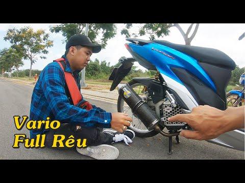 Khi Vario 150 Độ PXL Full Real Gặp Hai Thánh Review | Mượn Xe Bất Thành
