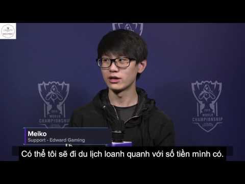 [Vietsub] Các tuyển thủ sẽ làm gì với số tiền thưởng nếu vô địch CKTG 2016