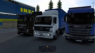 Mercedes OM442/446 V8 Stock sound for Mercedes Benz SK by XBS  I had re-use some SCS Scania V8 Start up sound and some Kriechvaum's Scania V8 Open pipe exhaust sound, cuz it quite similar to old Mercedes V8 sound  Version 1.0 Initial Released  Download link: https://forum.scssoft.com/viewtopic.php?f=211&t=299069