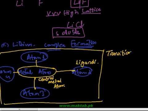 FSc Chemistry Book2, CH 2, LEC 2: Peculiar Behaviour of Lithium & Beryllium (Part 1)