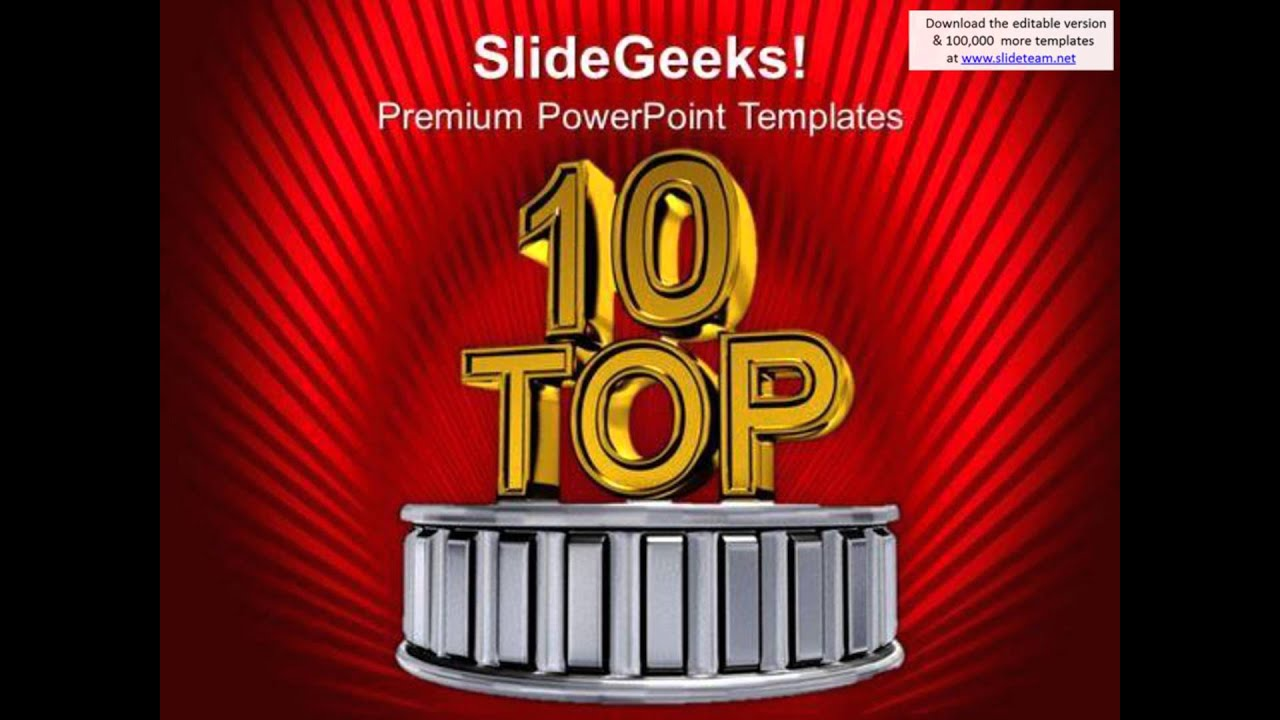 Top ten business award winners powerpoint templates ppt backgrounds top ten business award winners powerpoint templates ppt backgrounds for slides 0313 presentation inf youtube toneelgroepblik Gallery