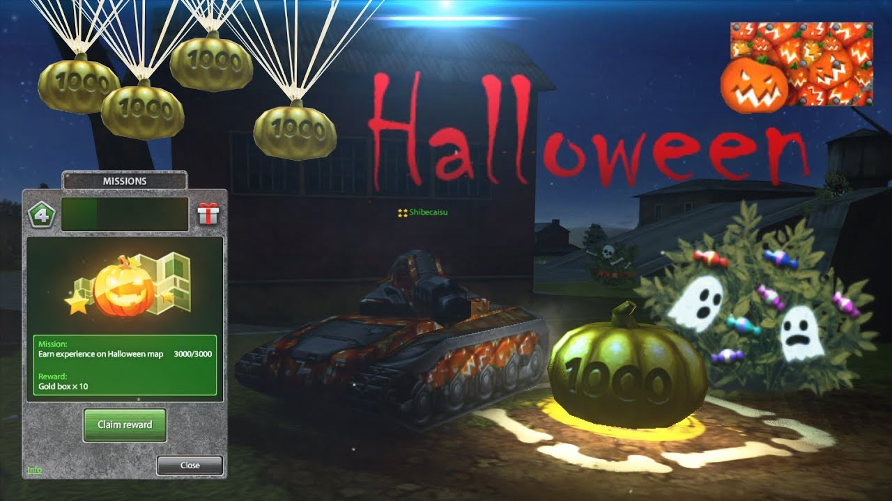 Tanki Online Halloween 2020 Tanki Online Halloween 2017 Gold Box Video #1   YouTube