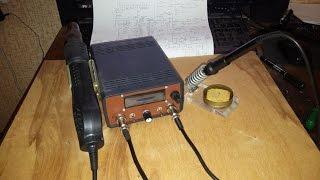 Самодельная Паяльная Станция на базе Микроконтроллера ATMega8A